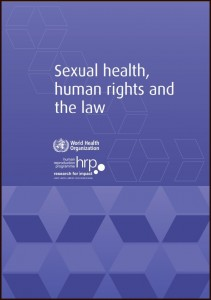 Sexual health, human rights COVER