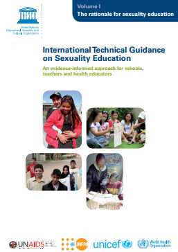 INT TECH GUIDANCE SEX ED VOL 1 COVER